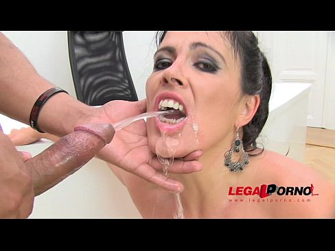 Anal female pissing